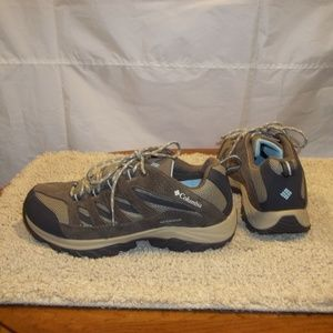 Columbia Hiking Shoes Waterproof Omni-Grip Size 8